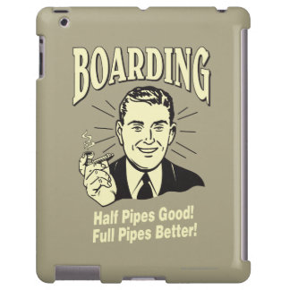 Boarding:Half Pipe's Good Full Better iPad Case