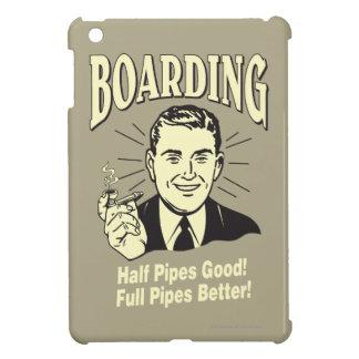 Boarding:Half Pipe's Good Full Better iPad Mini Cases