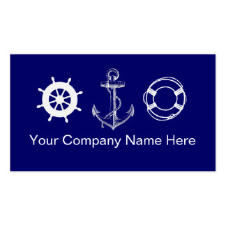 Boating Business Cards