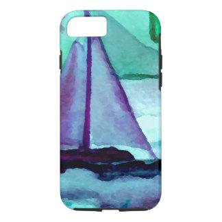 Boats in the Bathtub Sailing Art CricketDiane iPhone 7 Case
