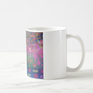 Bodhi Tree Meditation Mug. Basic White Mug