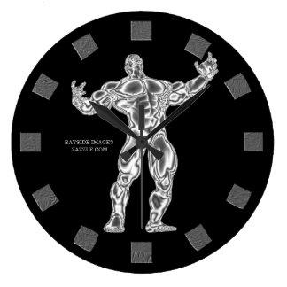 Bodybuilder Wall Clock