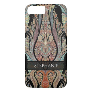 BOHO Chic Bohemian Stylish Kashmir Paisley Pattern iPhone 7 Plus Case