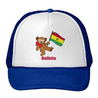 Bolivia Teddy Bear Cap