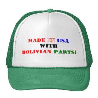 BOLIVIAN PARTS CAP