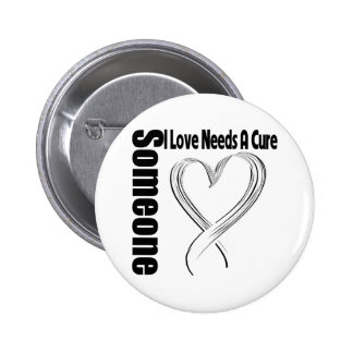 Bone Cancer Someone I Love Needs A Cure 6 Cm Round Badge