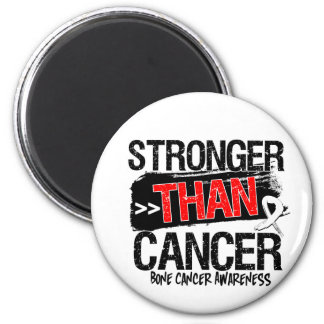 Bone Cancer - Stronger Than Cancer 6 Cm Round Magnet