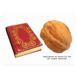 Book Nut Postcard