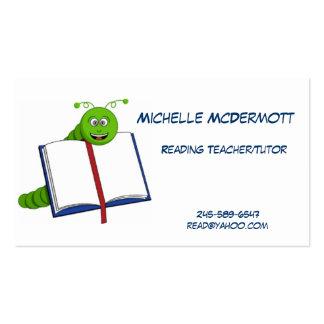 Bookworm Business Card