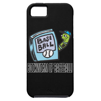 Bookworm Of Baseball iPhone 5 Cases