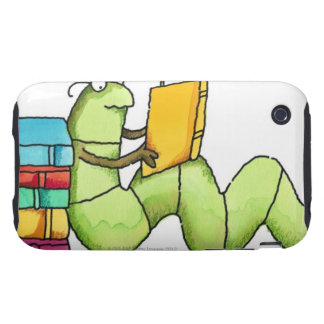 Bookworm Tough iPhone 3 Case
