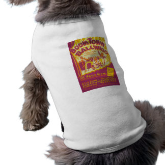 Boom Town Balyhoo Sleeveless Dog Shirt
