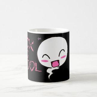 Boo's back to school scary mug