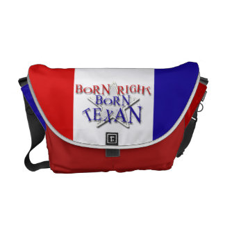 BORN TEXAN COMMUTER BAG