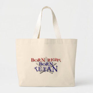 BORN TEXAN JUMBO TOTE BAG