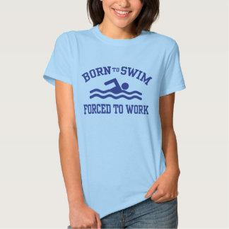 Born To Swim Tshirt