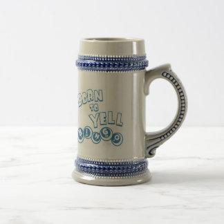 Born to Yell Mug