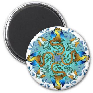 Bornholm Blues Magnet