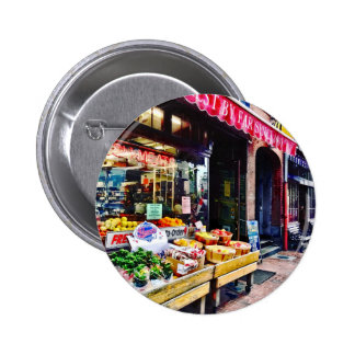 Boston MA - Fruit Stand 6 Cm Round Badge