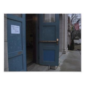Boston Public Schools: Public Hearing front door Art Photo