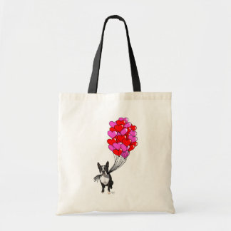 Boston Terrier And Balloons Budget Tote Bag