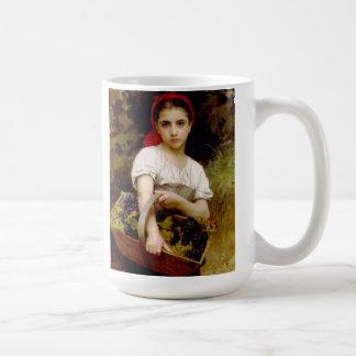 Bouguereau Harvester Basic White Mug