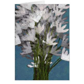 Bouquet of Flowers Note Card