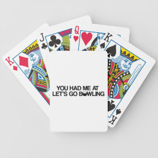 Bowling Products Poker Deck
