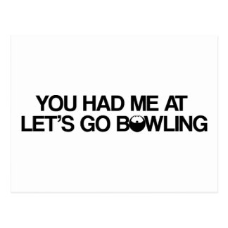 Bowling Products Postcard