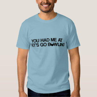 Bowling Products T Shirt