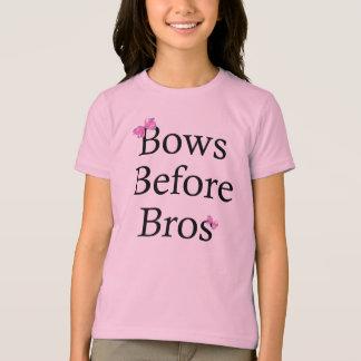 Bows Before Bros T Shirt