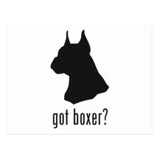 Boxer Postcard