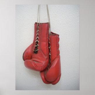 Boxing Gloves Huge Canvas Poster