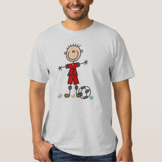 Boy Soccer Player T-shirt
