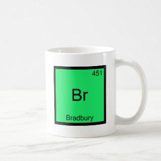 Br - Bradbury Funny Chemistry Element Symbol Tee Basic White Mug
