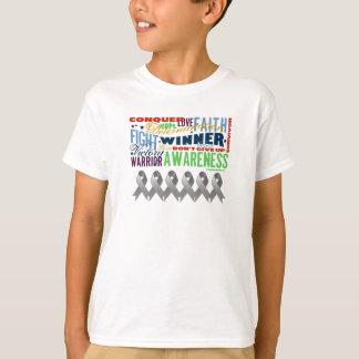 Brain Cancer Inspirational Words Shirt