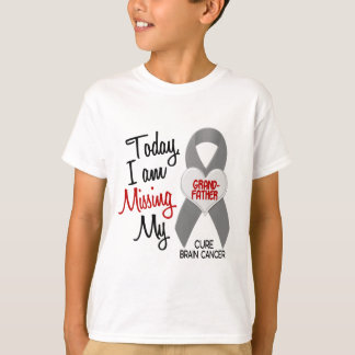 Brain Cancer Missing Miss My Grandfather 1 T-shirt