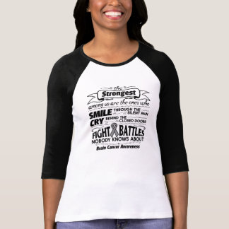 Brain Cancer Strongest Among Us T Shirt