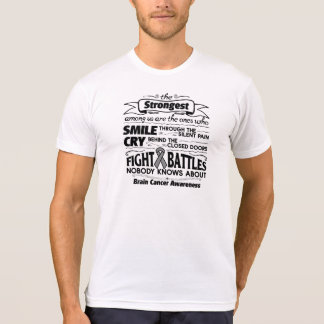 Brain Cancer Strongest Among Us T-shirt