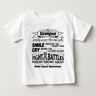 Brain Cancer Strongest Among Us Tshirts