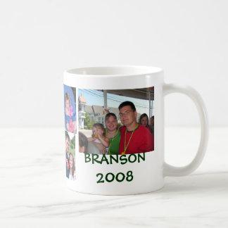 Branson 2008 basic white mug