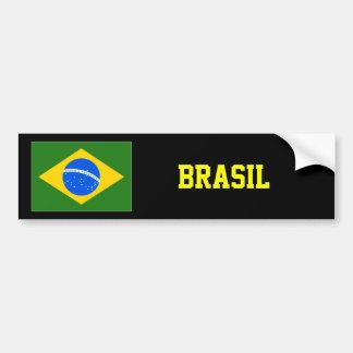 Brasil bumper sticker superstar design