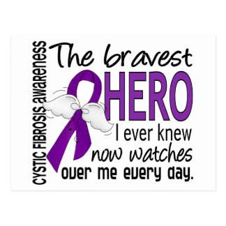 Bravest Hero I Ever Knew Cystic Fibrosis Postcard