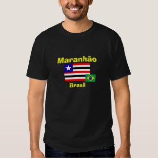 Brazil Maranhão* State Flag Shirt