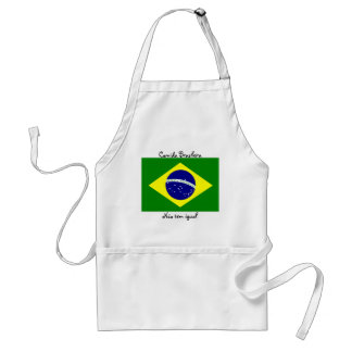 Brazilian food - it does not have equal! standard apron