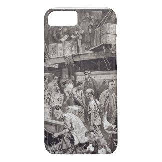 Breaking Bulk on Board a Tea Ship in the London Do iPhone 7 Case