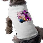 Breast Cancer Awareness Month, Rosie the Riveter Sleeveless Dog Shirt