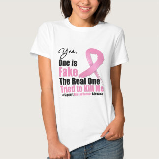 Breast Cancer One is Fake Tees