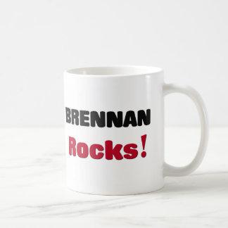 Brennan Rocks Basic White Mug
