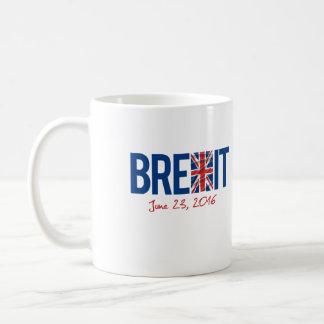 BREXIT - June 23 2016 - -  Basic White Mug